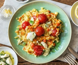 food, risotto, and summer image