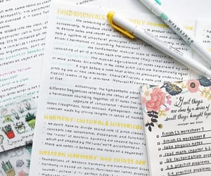 college, notes, and tumblr image