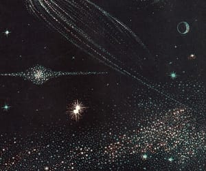 stars, space, and art image