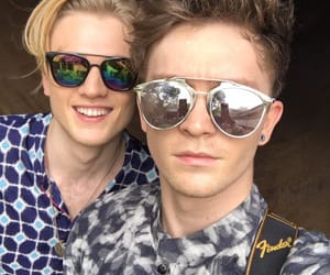 sunglasses, the vamps, and connor ball image