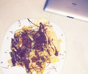 crepes, home, and nutella image