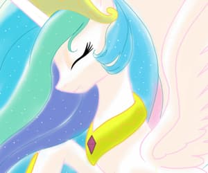 fan art, princess, and princess celestia image