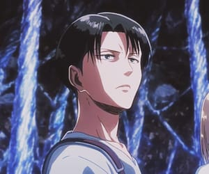 anime, levi, and anime boy image