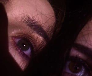 dark, eyes, and feed image