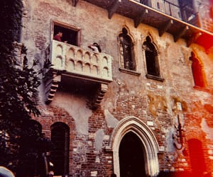 balcony, italy, and juliet image