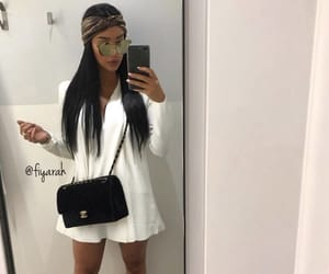 fashion style, ootd tenue love, and meuf frappe girl image