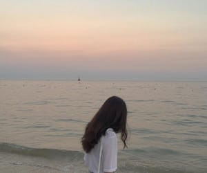 aesthetic, beach, and korean image