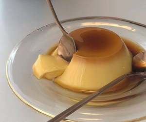 food, delicious, and pudding image