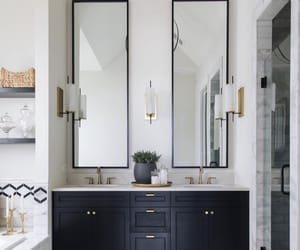 decor, interior, and bathroom decor image