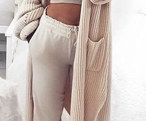 cardigan, cosy, and loungewear image