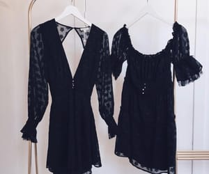 black, style, and for love and lemons image