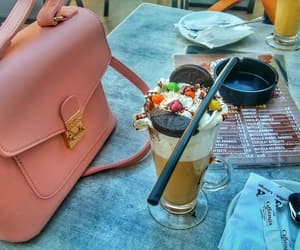 bag, coffee, and party image