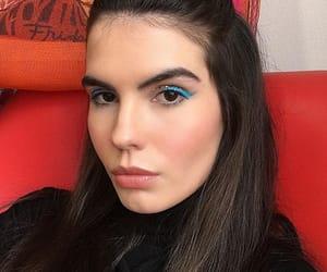 makeup, model, and myllena dalla image