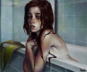 artistic, beautiful, and digital painting image