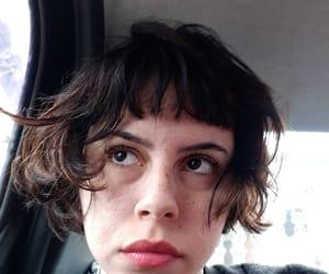 bangs, girls, and short hair image