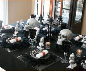 Halloween, decor, and gothic image