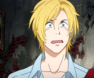 gif, eiji okumura, and banana fish image