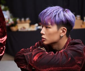 Bobby Ikon Purple Hair