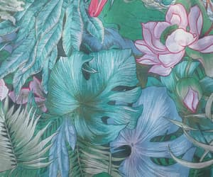 green, flowers, and wallpaper image