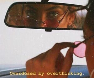 quotes, aesthetic, and overthinking image