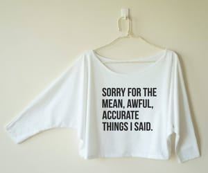 etsy, funny, and mean image