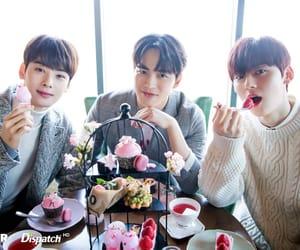 wanna one, hongbin, and eunwoo image
