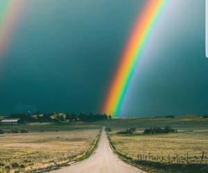 arco iris, beatiful, and ciudad image