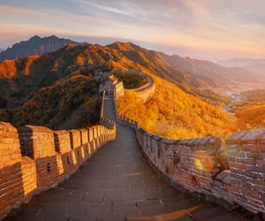 asia, china, and great wall image
