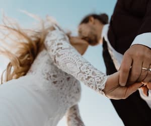 couple, wedding, and goals image
