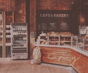 aesthetic, bakery, and brown image