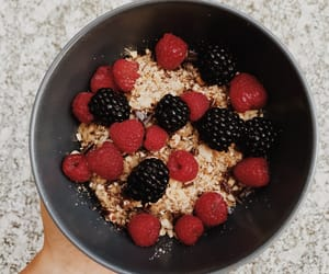 blackberry, breakfast, and fit image