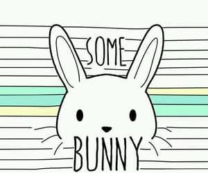 wallpaper, love, and bunny image