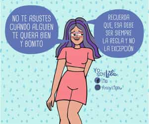 amor, chicas, and frases image