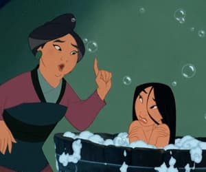 bath, cartoon, and gif image