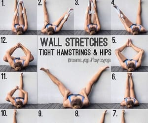 fit, hips, and wall stretches image