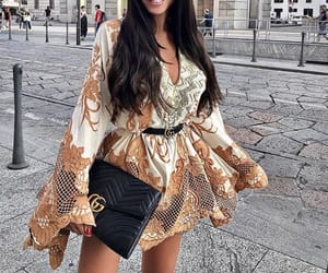 babe, dress, and fashion image