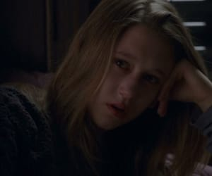 girl, sadness, and weird image