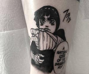 funny, rock lee, and tattoo image
