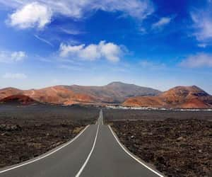 Island, spain, and lanzarote image
