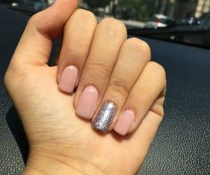 glitter, nail, and pink image