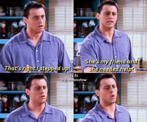 joey tribbiani, tv show, and season 4 image