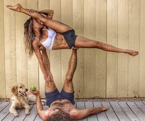 flexibility, yoga, and acro image