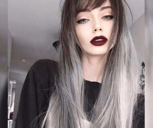 grey and haïr image