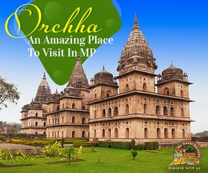 madhya pradesh tourism, orchha tourism, and orchha tour packages image