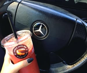 benz, nails, and smoothie image
