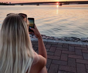 finland, summer, and sunset image