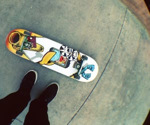 board and skater image