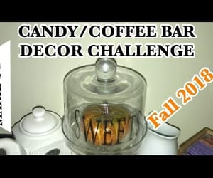 candy, coffee, and fall image