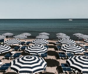beach, italy, and wanderlust image