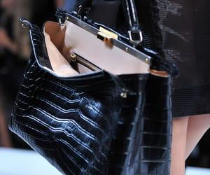 bag, fendi, and leather image